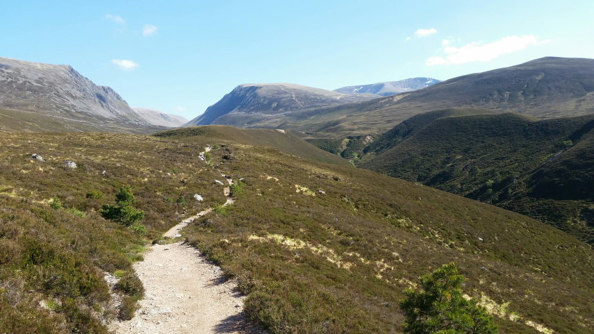 Lairig Ghru: Approach from North-west  - © Flickr Monica Guy