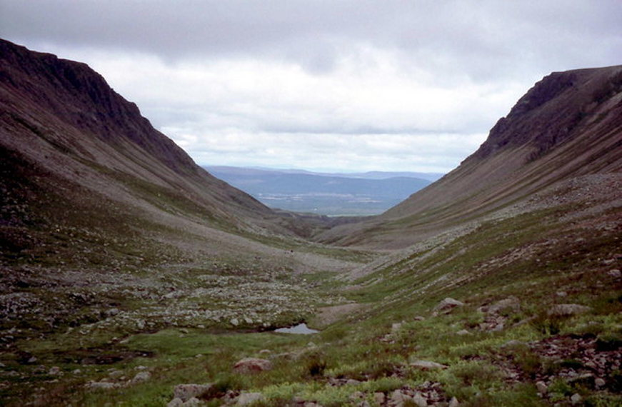 In the Lairig Ghru  - © geograph user Russel Wills