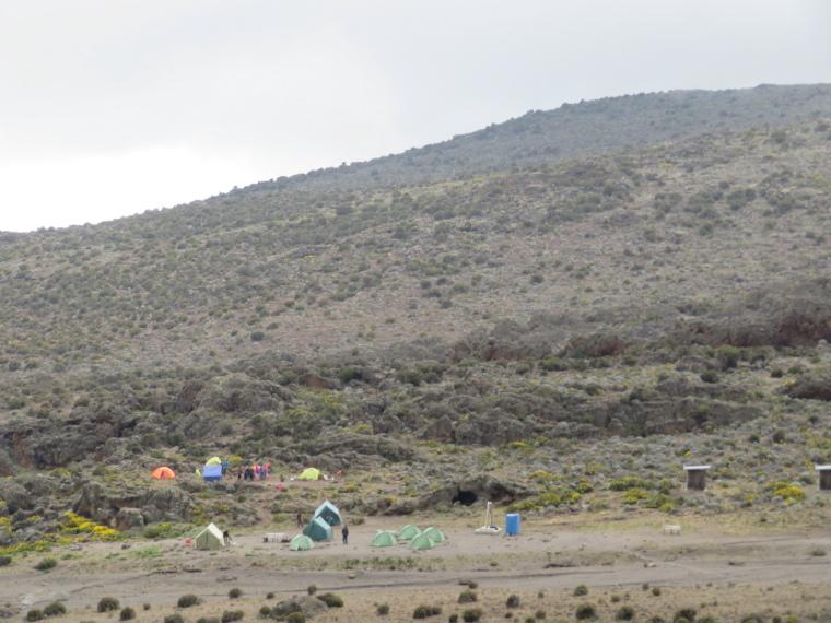 Tanzania Mount Kilimanjaro, Trekking Kilimanjaro , 3rd Cave camp, Walkopedia