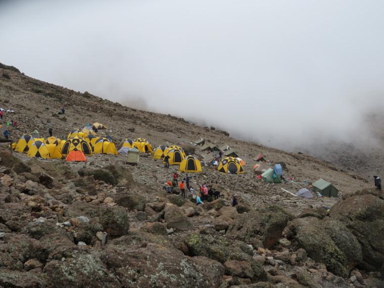 Mount Kilimanjaro : Barafu Camp - © William Mackesy