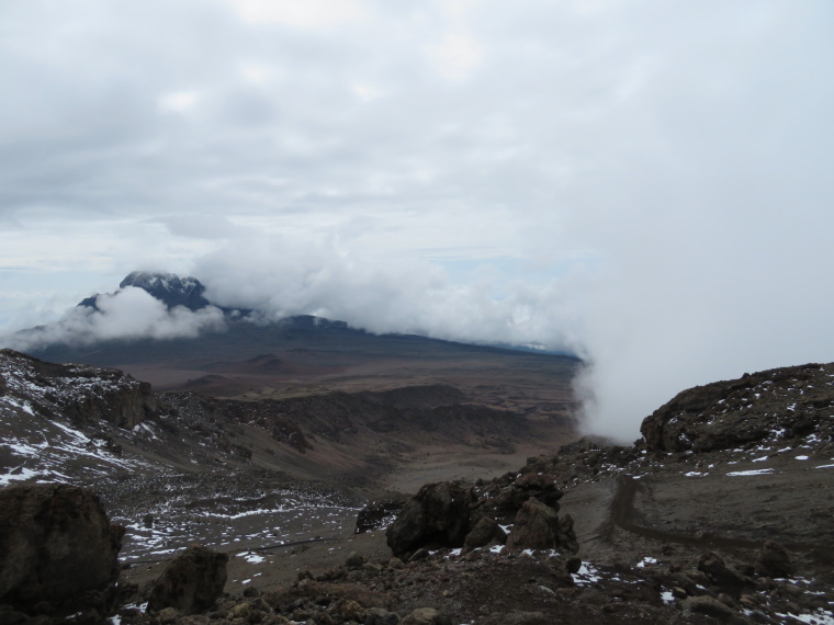 Mount Kilimanjaro : Descent from Stella Point, relatively normal world - © William Mackesy