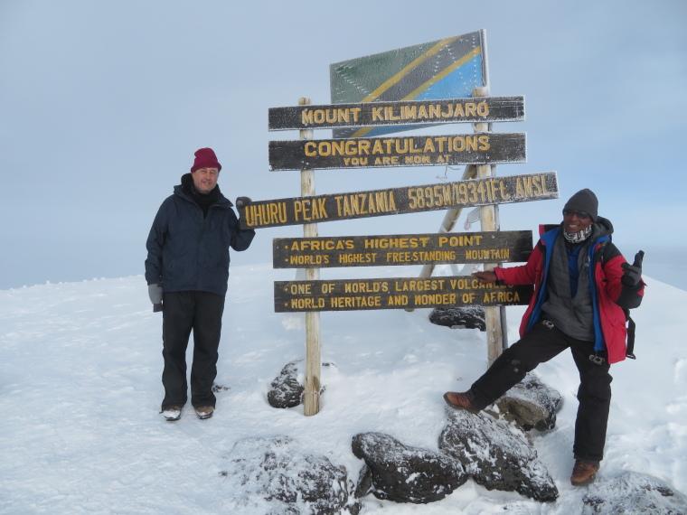 Mount Kilimanjaro : Summit - © William Mackesy