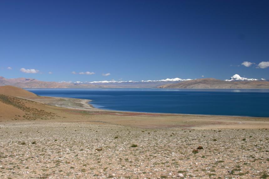 China Tibet, Lake Manasarovar, Raksas Tal, Walkopedia