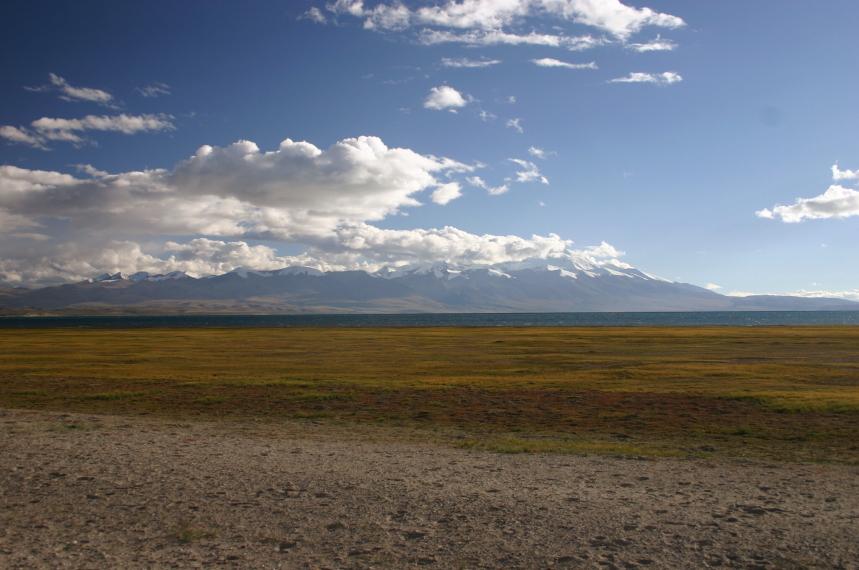 China Tibet, Lake Manasarovar, Late, Walkopedia