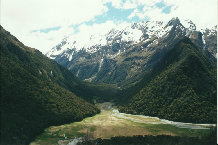 Routeburn - early day 1 - © Copyright William Mackesy
