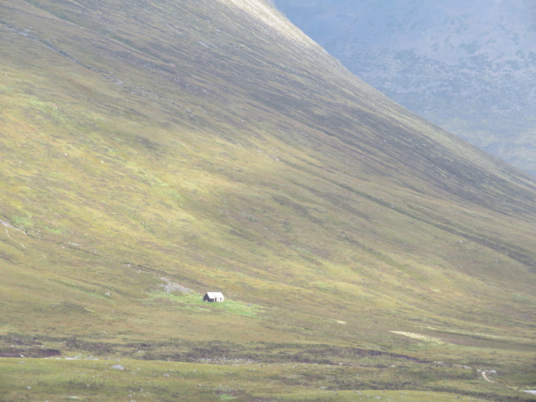 United Kingdom Scotland Cairngorms, The Cairngorms, Corrour hut, Walkopedia