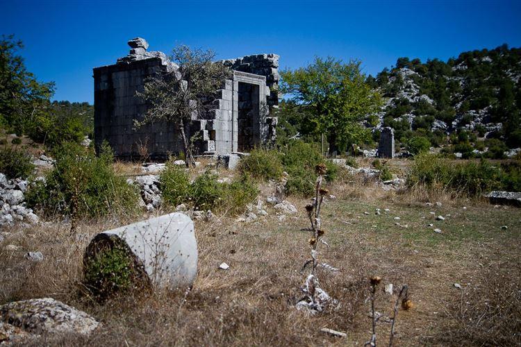Turkey Anatolia, St Paul Trail, Ruins at Adada, Walkopedia