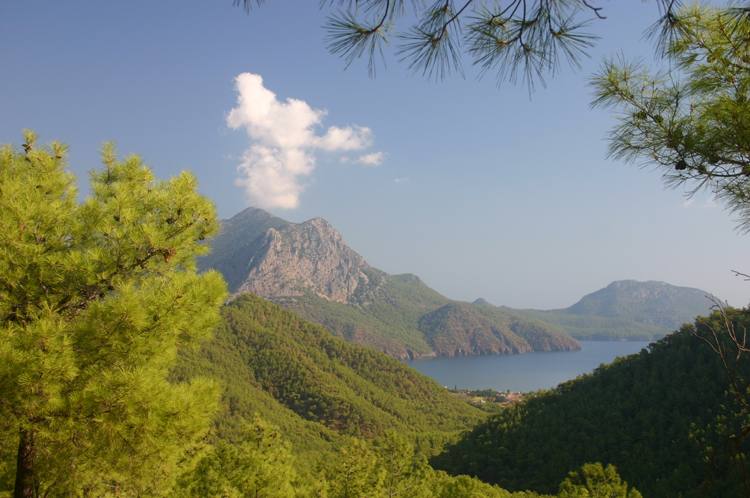 Turkey Mediterranean Lycia, Lycian Way, Upper Gelidonia peninsula, Walkopedia