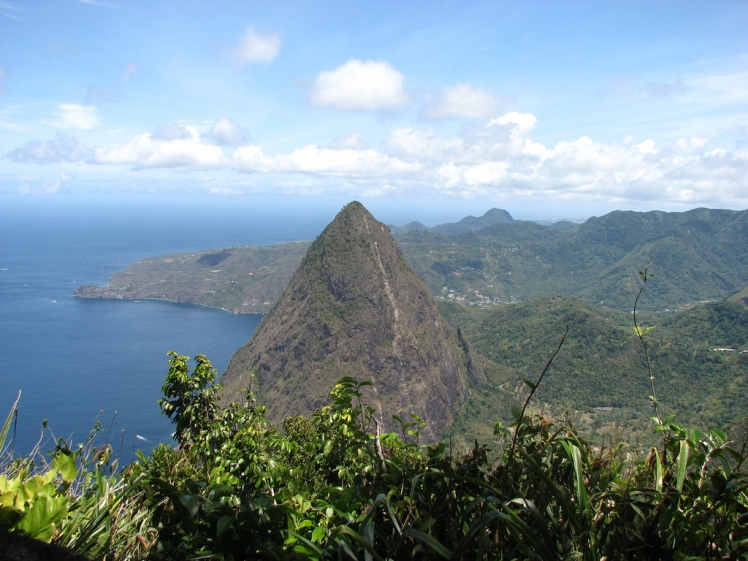 Petit Piton From Gros Piton - © Flickr user James V. McCoy