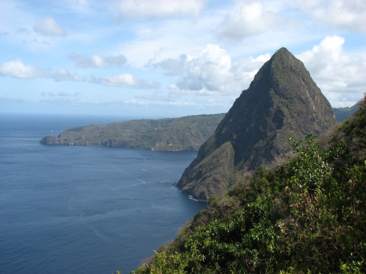 View of Petit Piton - © Flickr user James V. McCoy
