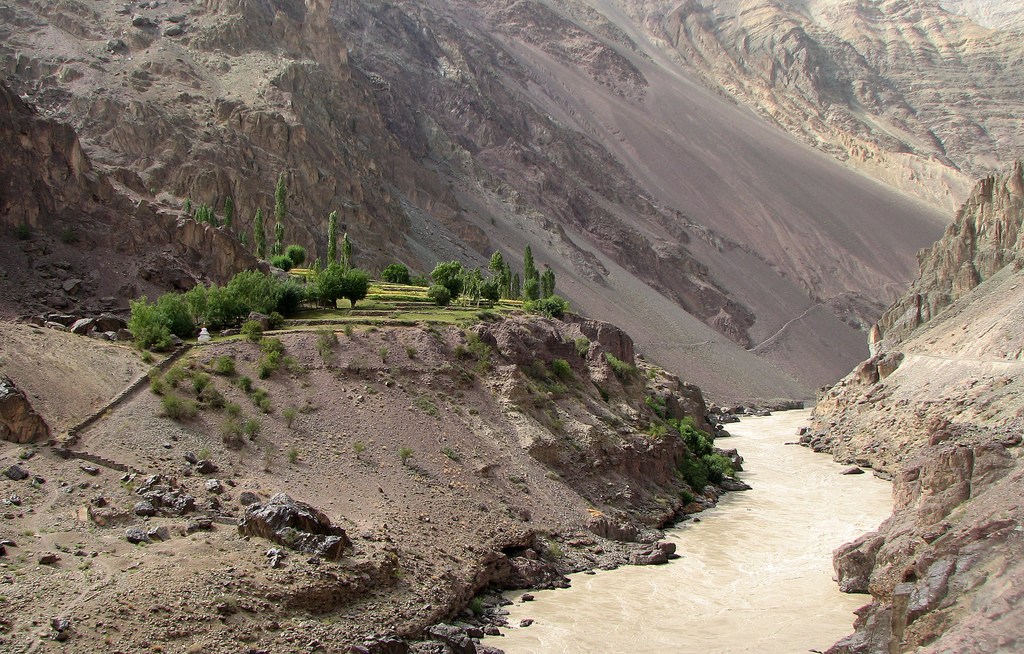 Farm, Zanskar - © By Flickr user wildexplorer