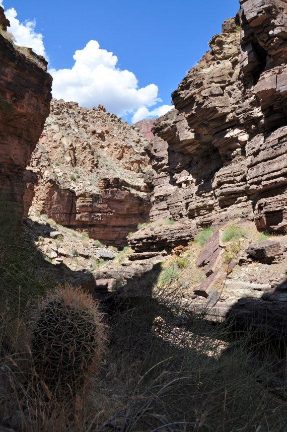 USA SW: Grand Canyon, Thunder River, Deer Creek Trails, Deer Creek Narrows , Walkopedia