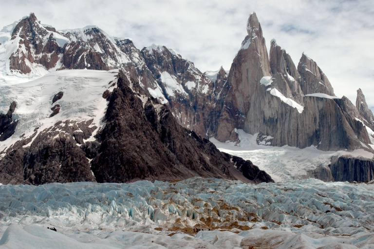 Cerro Torre and its Glacier  - © flickr user- Mor