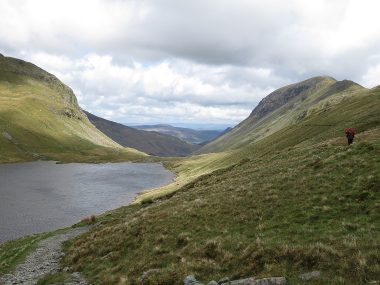 Coast to Coast:  Across Grisedale Tarn toward Patterdale - © William Mackesy