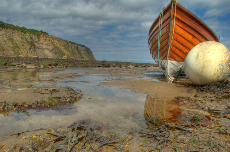 "Coast to Coast: Robin Hood""s Bay - © By Flickr user ThomasTolkien"