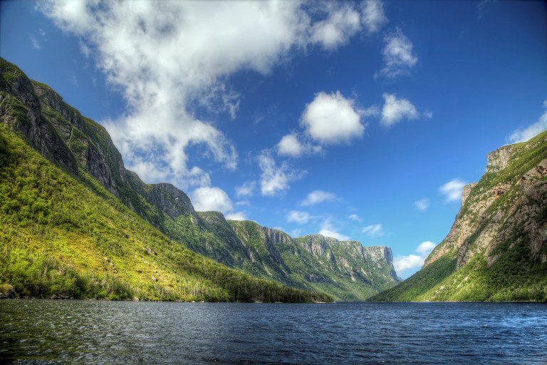 Gros Morne NP: Western Brook Pond Fjord  - © flickr- VisitGrosMorne