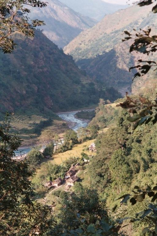 Kangchenjunga from Nepal: Mitlung, Tamur Valley  - © flickr user- Oliphant