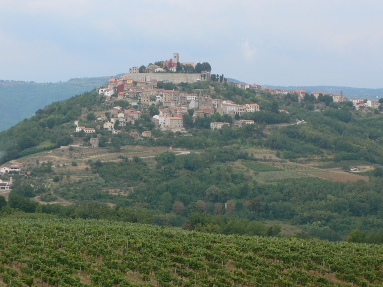 Motovun in Istria, Croatia  - © flickr user- Heather Cowper