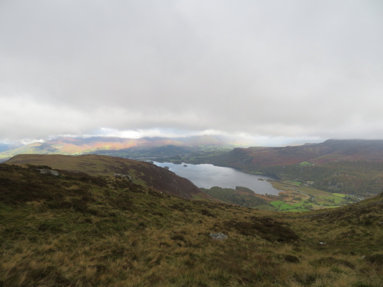 United Kingdom England Lake District, Catbells and High Spy, North from Narrow Moor, Derwent Water, Walkopedia
