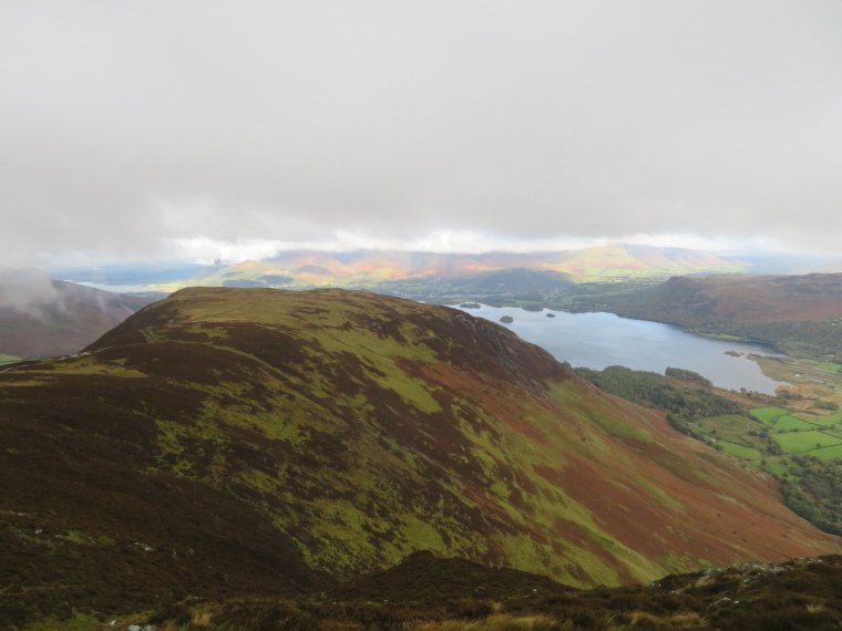 United Kingdom England Lake District, Catbells and High Spy,  North to Catbells and Derwent Water, Walkopedia