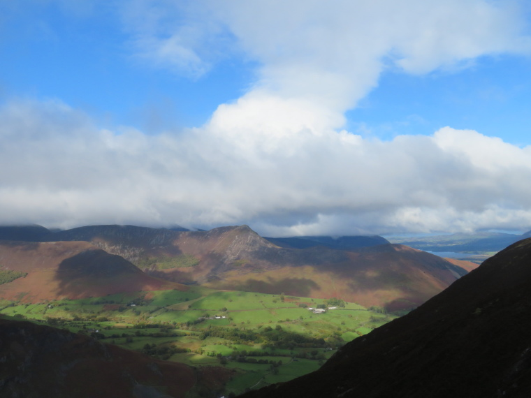 United Kingdom England Lake District, Catbells and High Spy, Looking west, Walkopedia