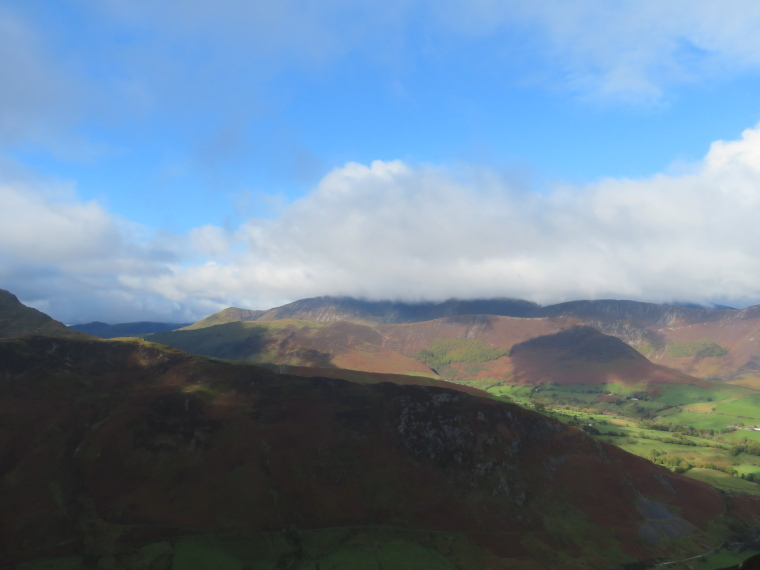 United Kingdom England Lake District, Catbells and High Spy, looking south-west, Walkopedia
