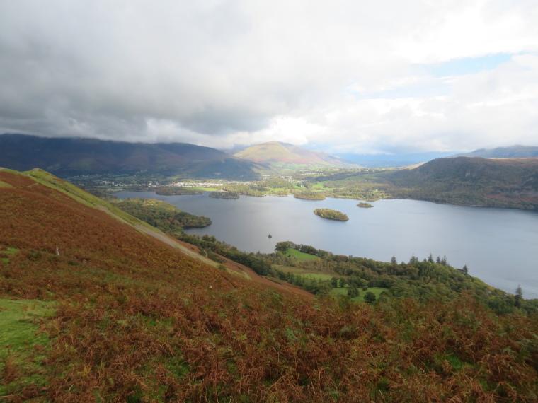 United Kingdom England Lake District, Catbells and High Spy, Derwent Water, Walkopedia