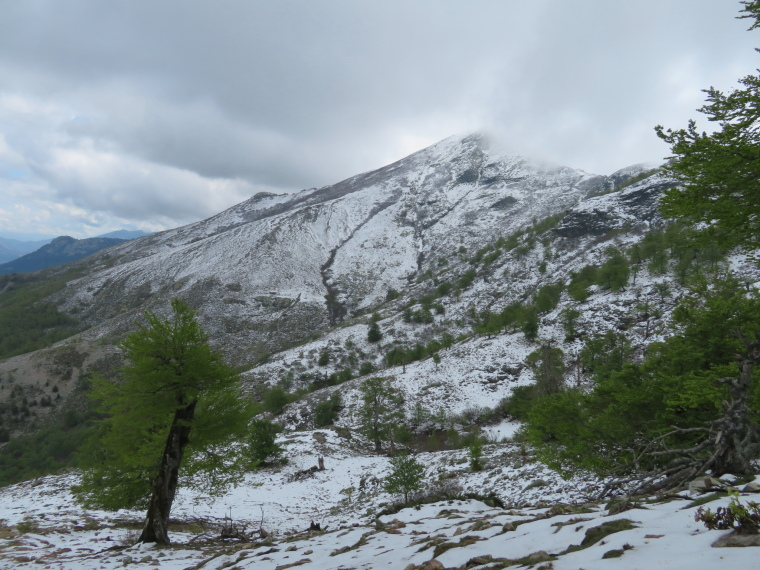 GR20:  Mid May snow, Lac de Nino walk, on GR20 - © William Mackesy