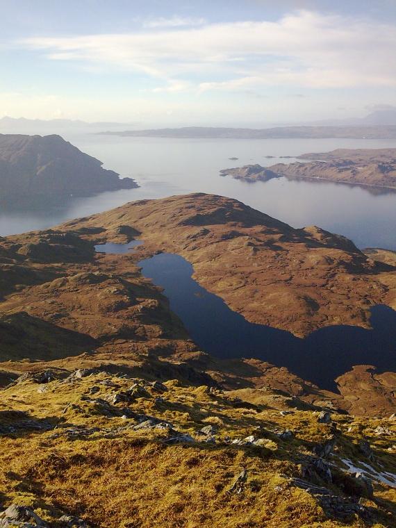 United Kingdom Scotland NW Highlands Knoydart, Inverie to Glenfinnan, Inverie Bay, Knoydart, Walkopedia