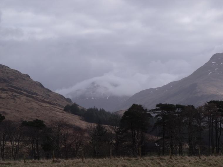 United Kingdom Scotland NW Highlands Knoydart, Inverie to Glenfinnan, View from Inverie, Knoydart, Walkopedia