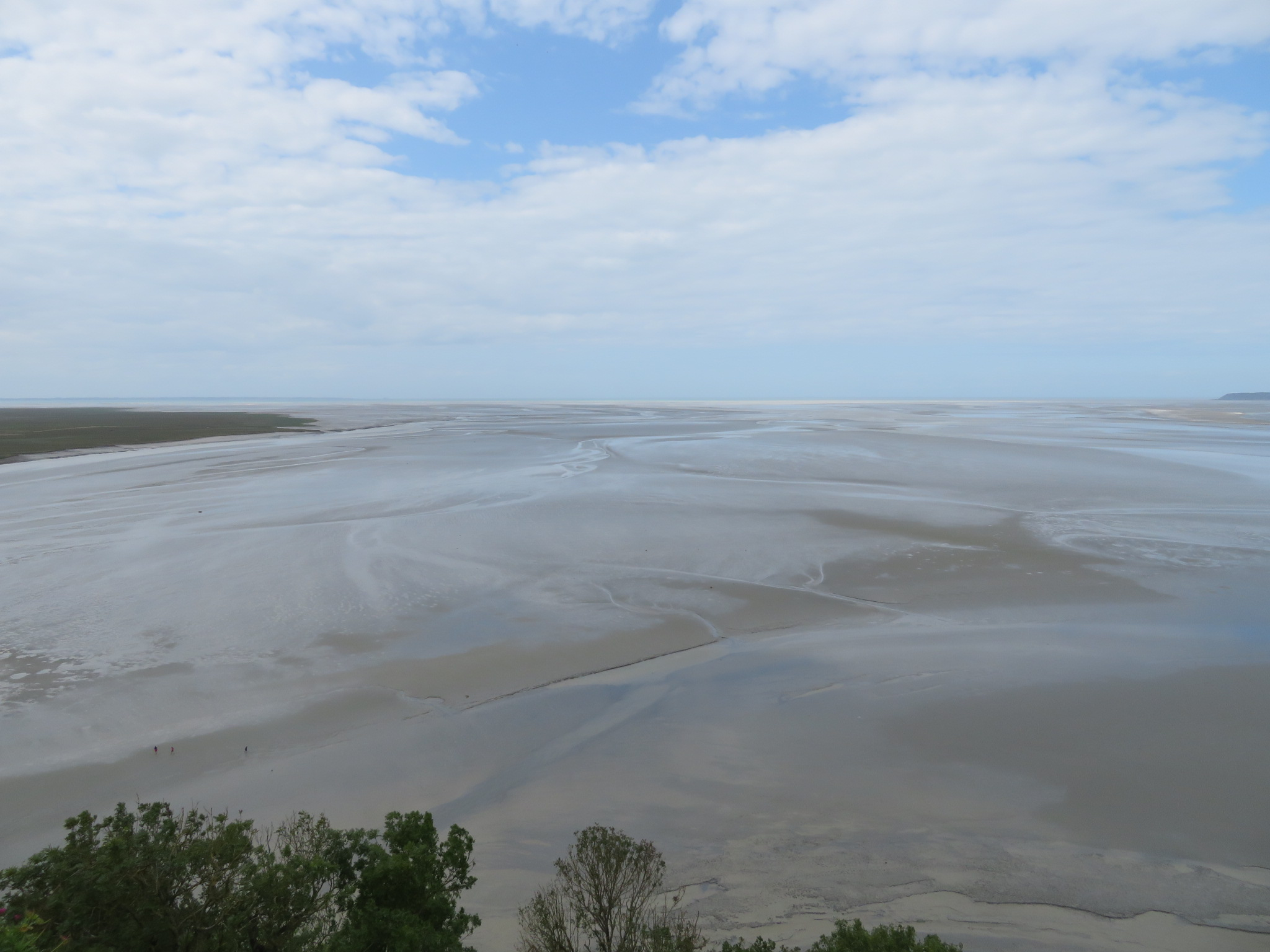 Great mud flats from the abbey