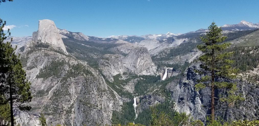 USA California Yosemite, Yosemite National Park, From Panorama trail , Walkopedia