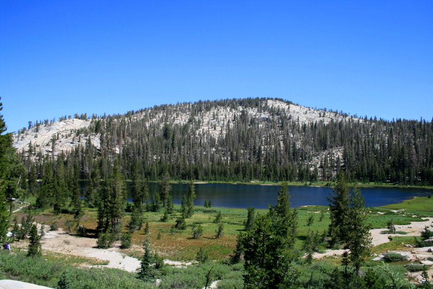 USA California Yosemite, Yosemite National Park, Upper Sunrise Lake , Walkopedia