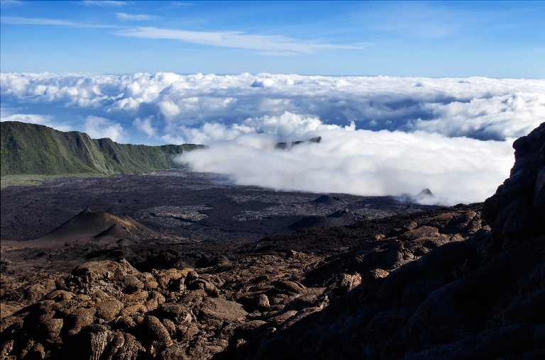 Reunion Island: Piton de la fournaise  - © flickr user- Fougerouse Arnaud