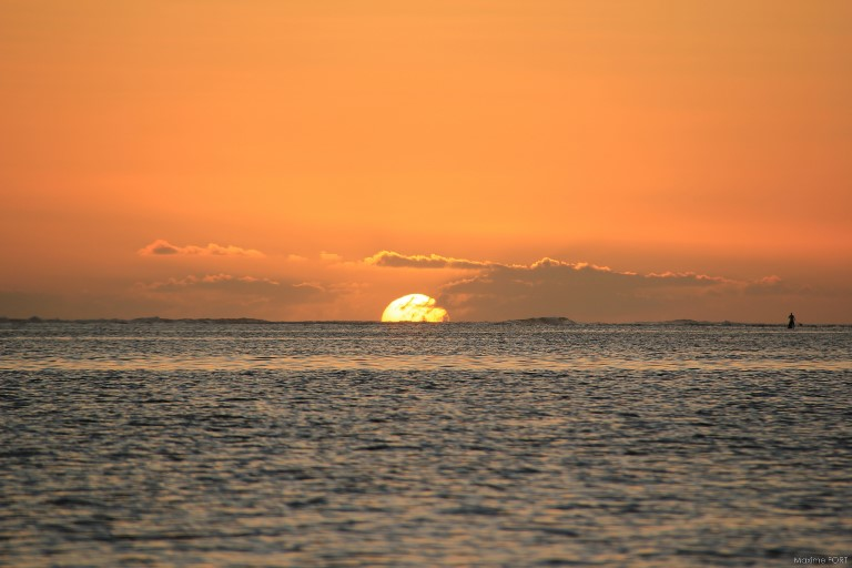 Reunion Island: Sunset - © flickr user- Maxime FORT