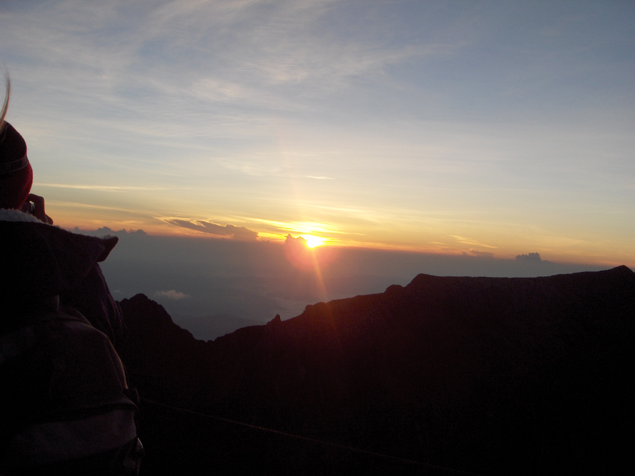Mt Kinabalu - SUNRISE ON SUMMIT - © Jim Holland