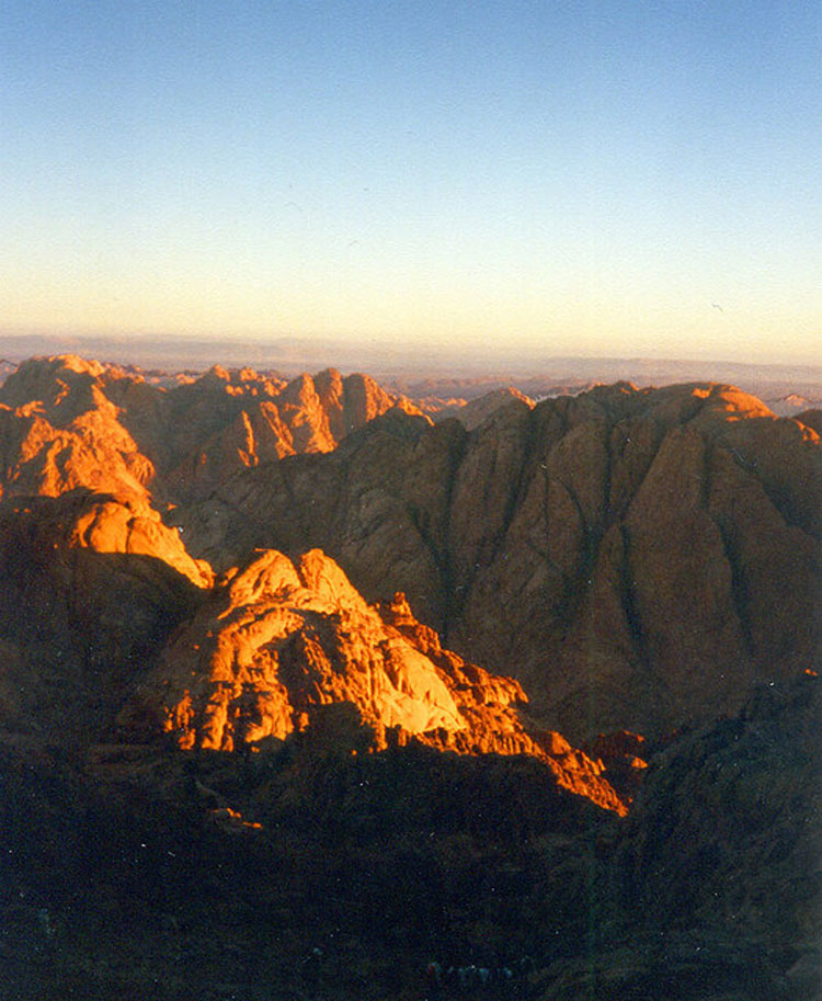 Mount Sinai - © From Flickr user HerrmannGunnar