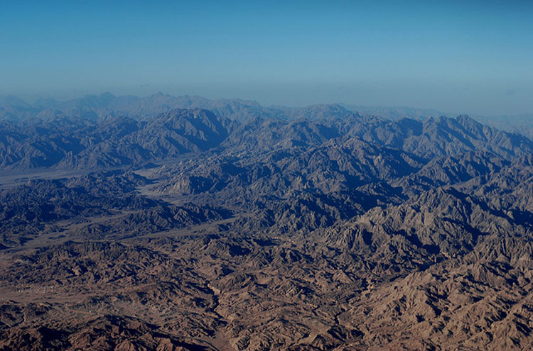 Mount Sinai - © From Flickr user Wilhelmja