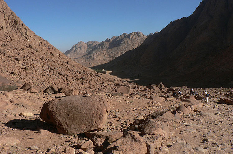 Mount Sinai, St Catherine's Monastery - © From Flickr user EvilJohnius