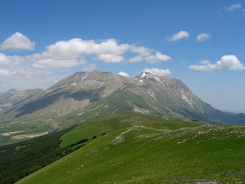 Italy Sibillini, Sibillini, South Ridge, Monte-Vettore, Walkopedia