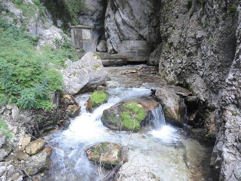 """Sibillini: Gola dell""""Infernaccio - © Wikimedia FedeGrad"""