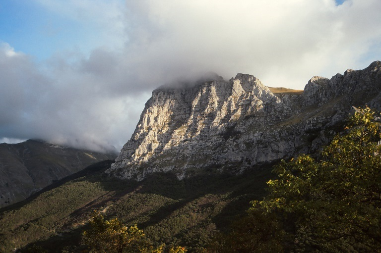 View of Monte Bove in the Sibellini Mountains from valley flank, Le Marche - © flickr user- Roy Luck