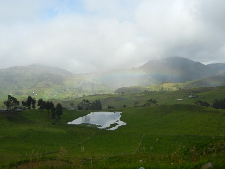 Inca Road to Ingapirca: Rainbow, Countryside near Ingapirca - © Flickr User - Mulligan Stu