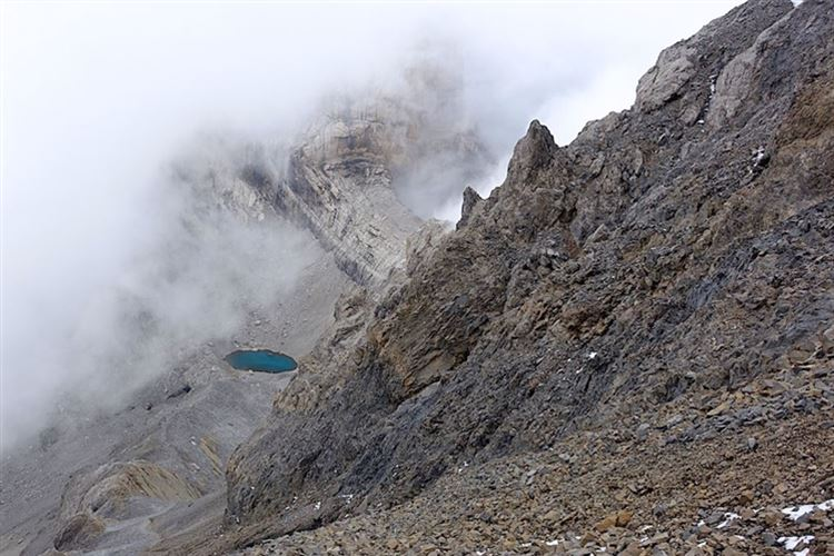 View down Monte Perdido from main Goriz path - © Christopher J Etchells