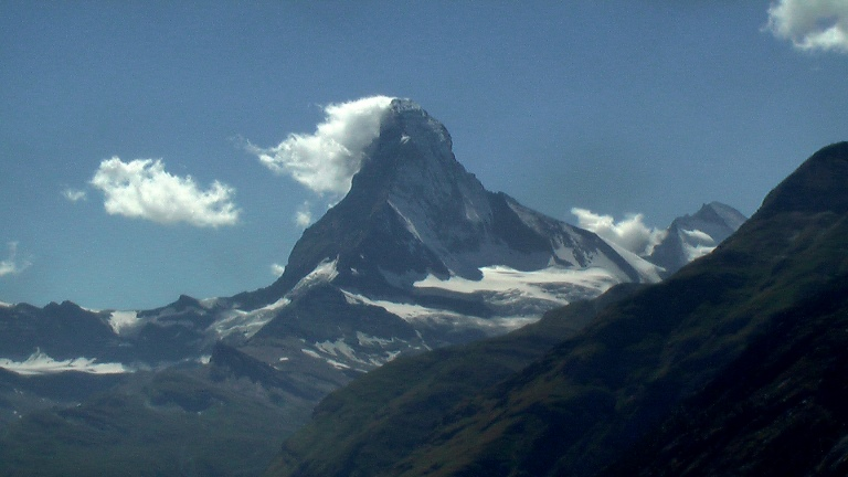 Matterhorn getting closer and closer - © Rick McCharles