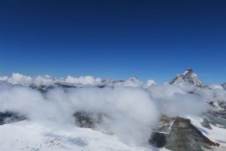 Walkers Haute Route (Chamonix to Zermatt): Nearing Col Termin - © Min, Walkopedia friend