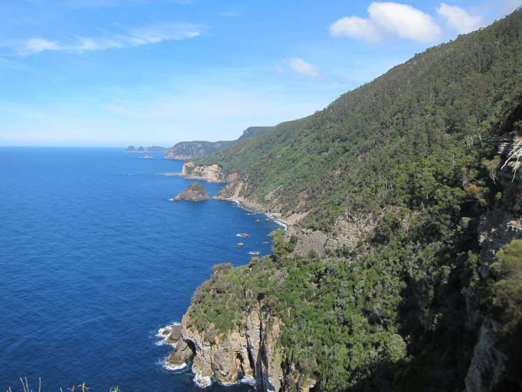Tasman Peninsula - Coastline south of Waterfall Bay - © Copyright William Mackesy