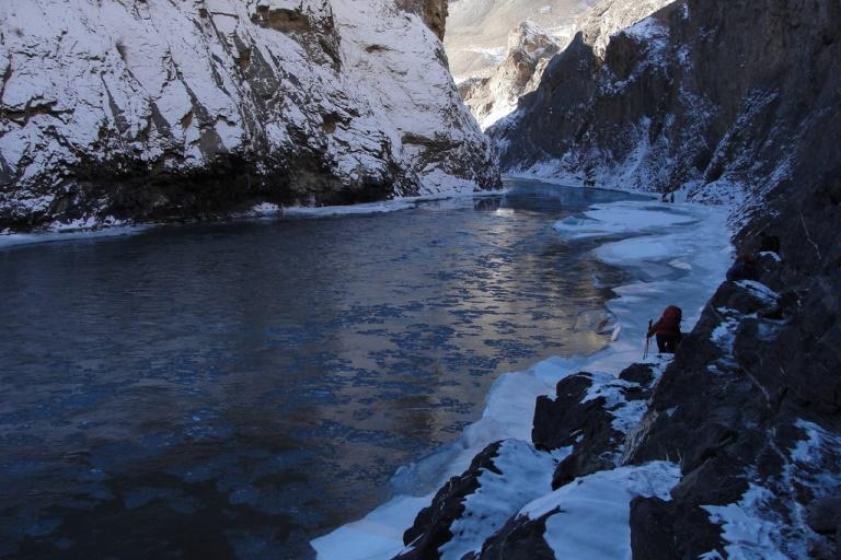 Zanskar River in Winter: Chadar  - © flickr user- Bob Witlox