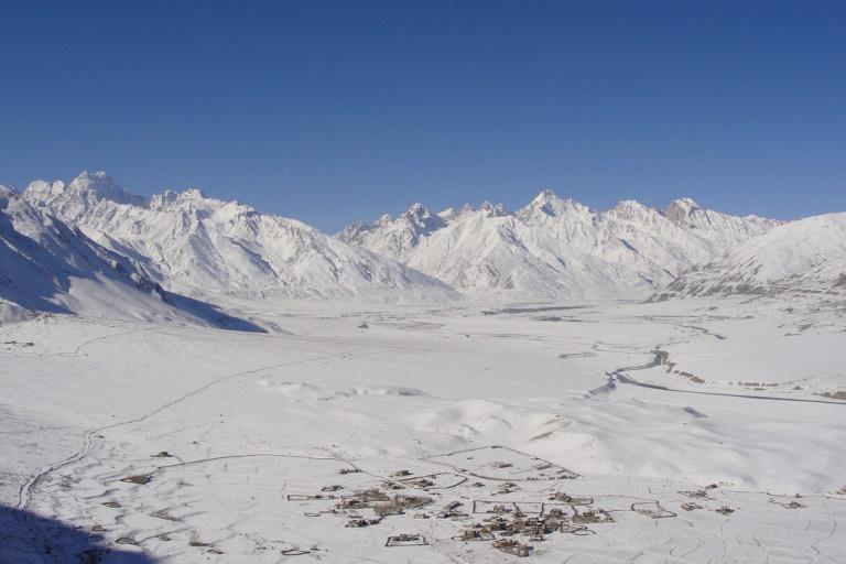 Zanskar River in Winter: Zanskar Valley - © flickr user- Bob Witlox