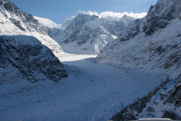 Mer de Glace, Chamonix  - © flickr user- Sally Payne